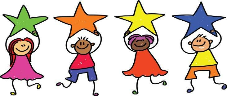 Cute Kids Holding Stars