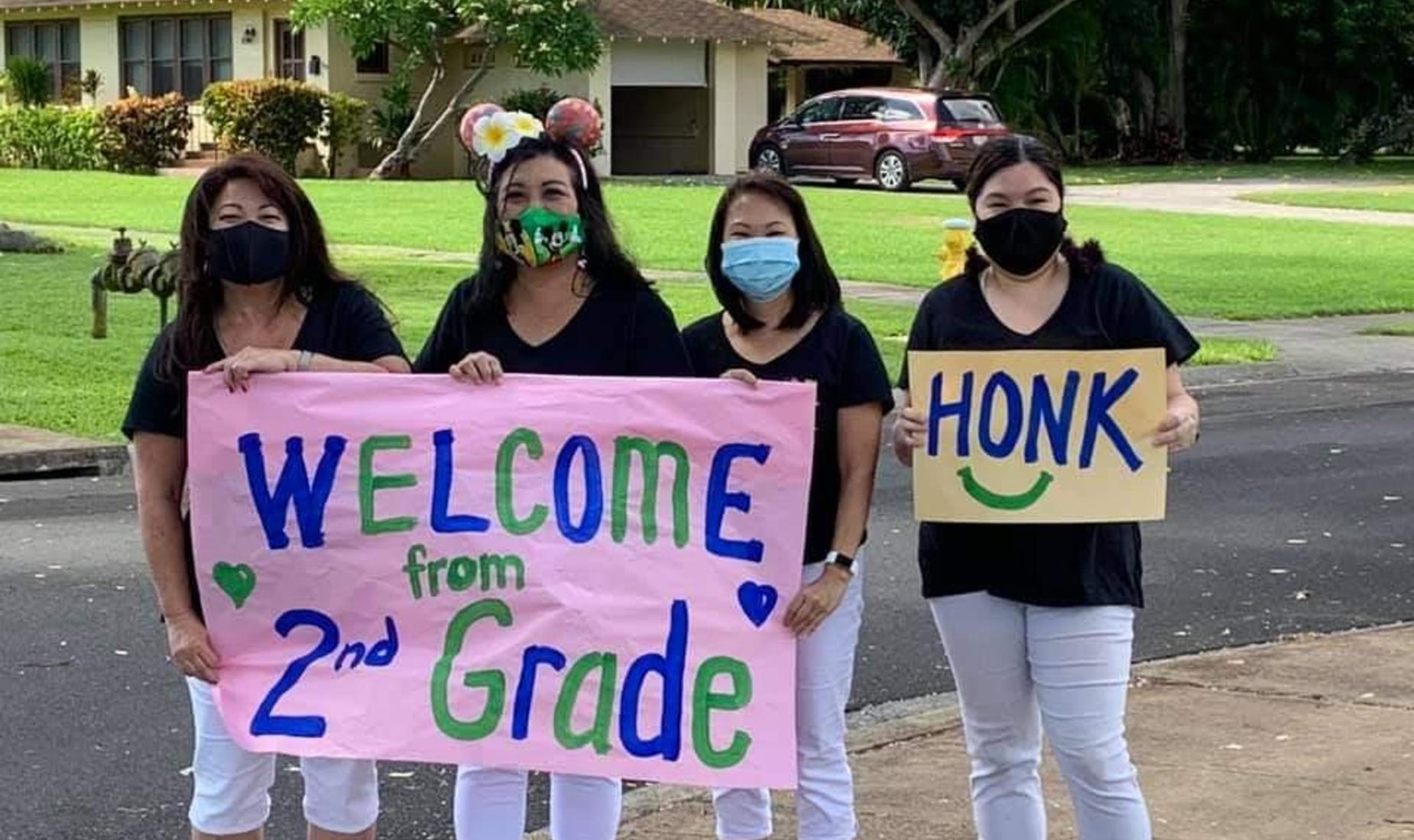 2nd Grade Teachers Welcoming students back to school
