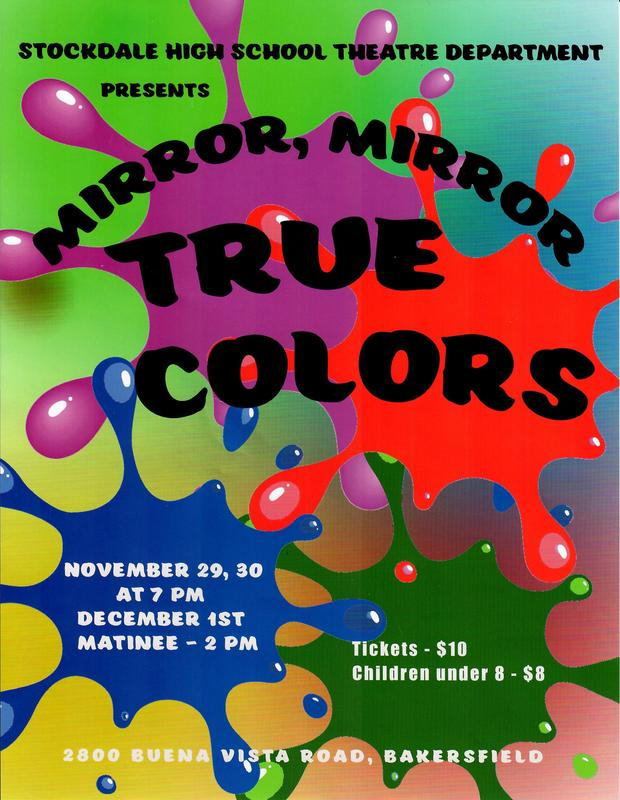 Stockdale Drama Presents: Mirror, Mirror True Colors Thumbnail Image