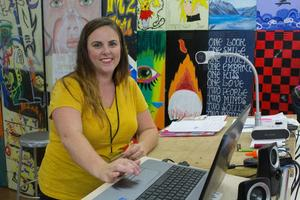 Danielle Frid QHS and PHS Art Teacher