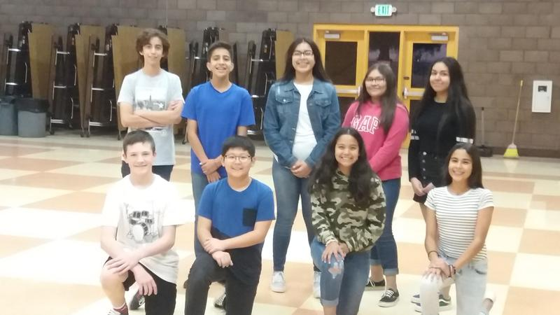 Nine of McCabe's Advanced Band students participated in the first rehearsal for the Imperial Valley Honor Band. Thumbnail Image