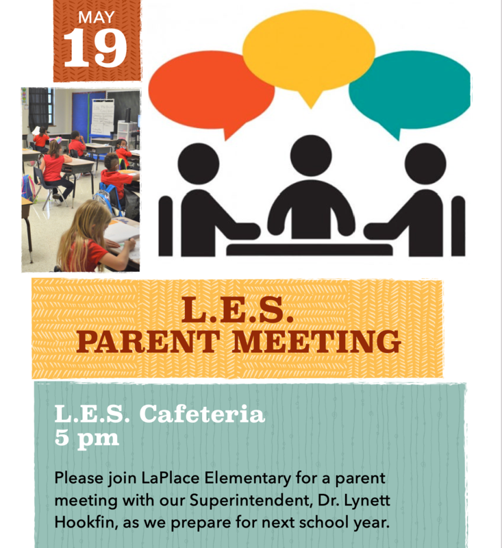 LaPlace Elementary's Parent Meeting with the Superintendent Thumbnail Image