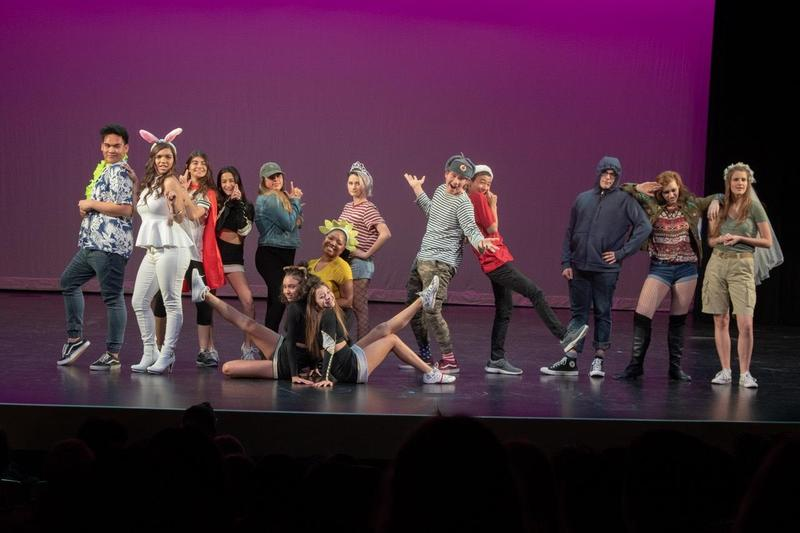 GV Performers Shine at District Theater Festival Featured Photo