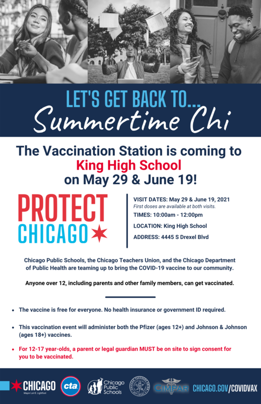 Vaccination Station King High School