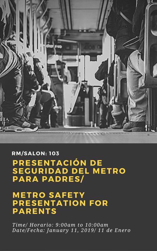 Metro Safety Workshop Thumbnail Image