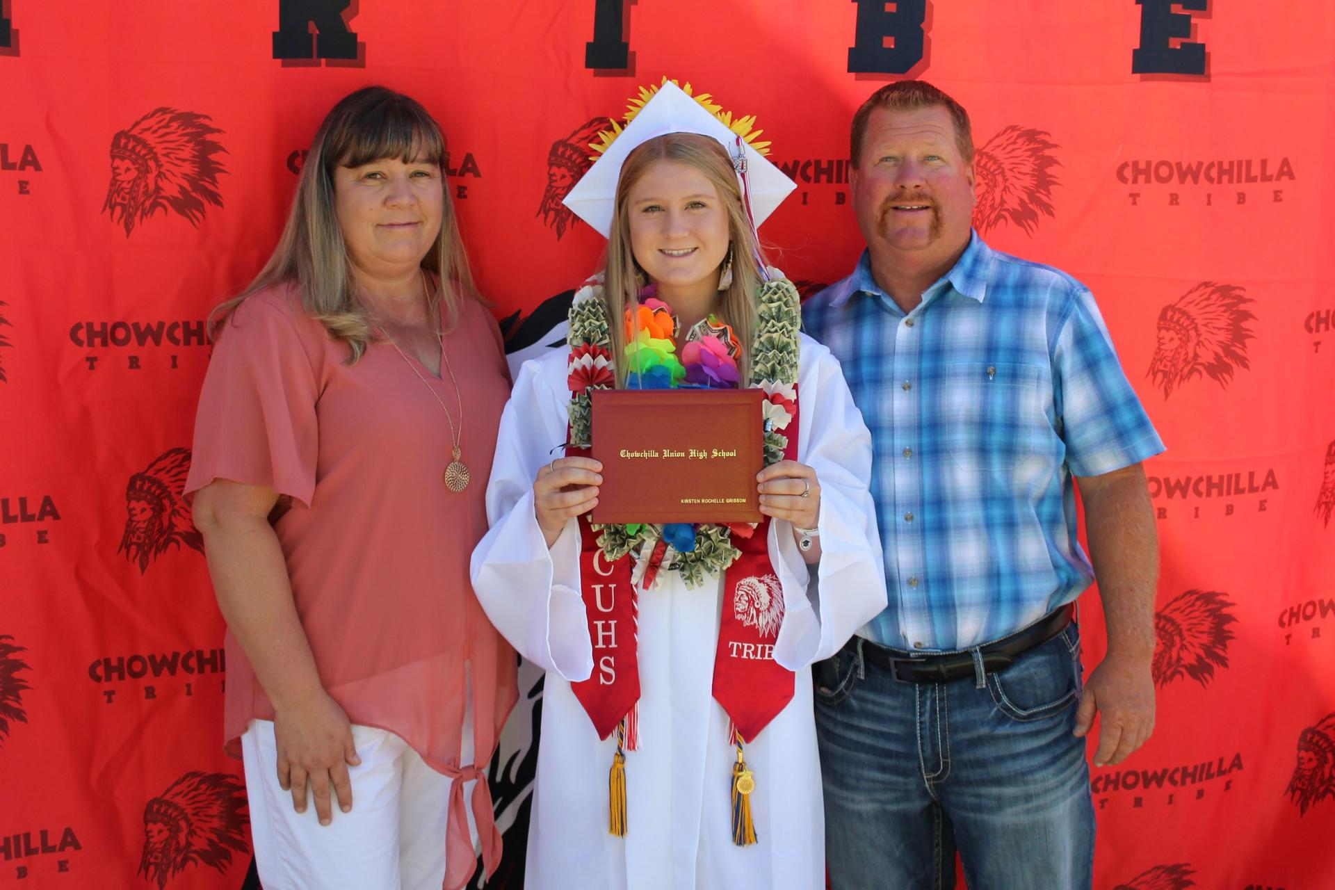Kirsten Grissom and family