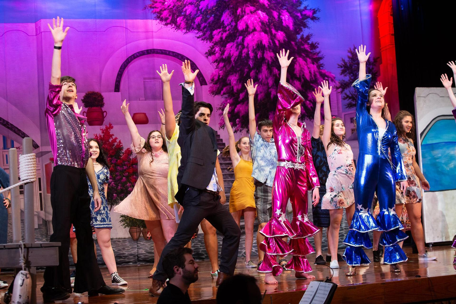 The Mercy and Xavier Theater Program perform 'Mamma Mia!'