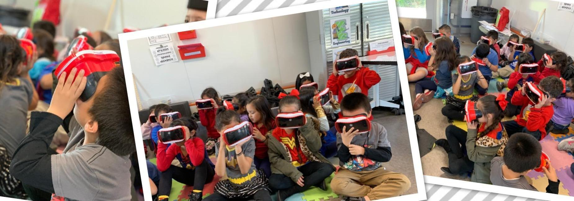 Google Expeditions in the Innovation lab