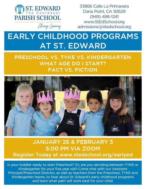 Early Childhood Virtual Chat Featured Photo