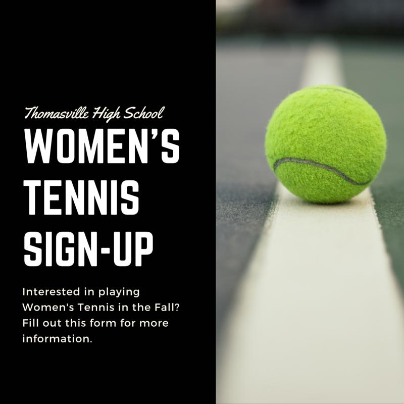 Women's Tennis Sign-Up