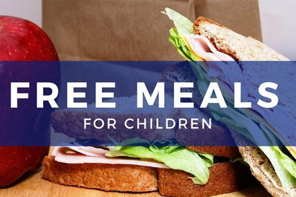 Free meals for all District 124 children this year Thumbnail Image