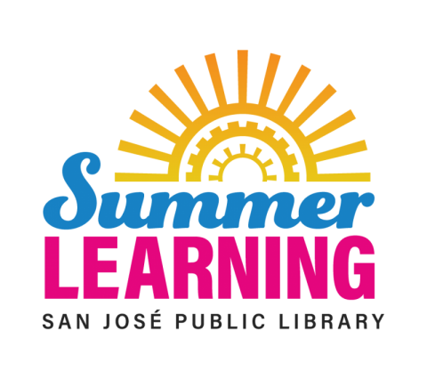 Summer Learning text with sun image