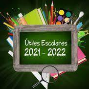 UTILES ESCOLARES 2021-2022