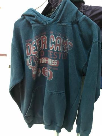 deer camp hoodie