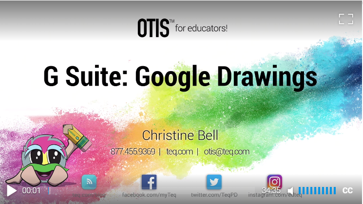 G Suite: Google Drawings