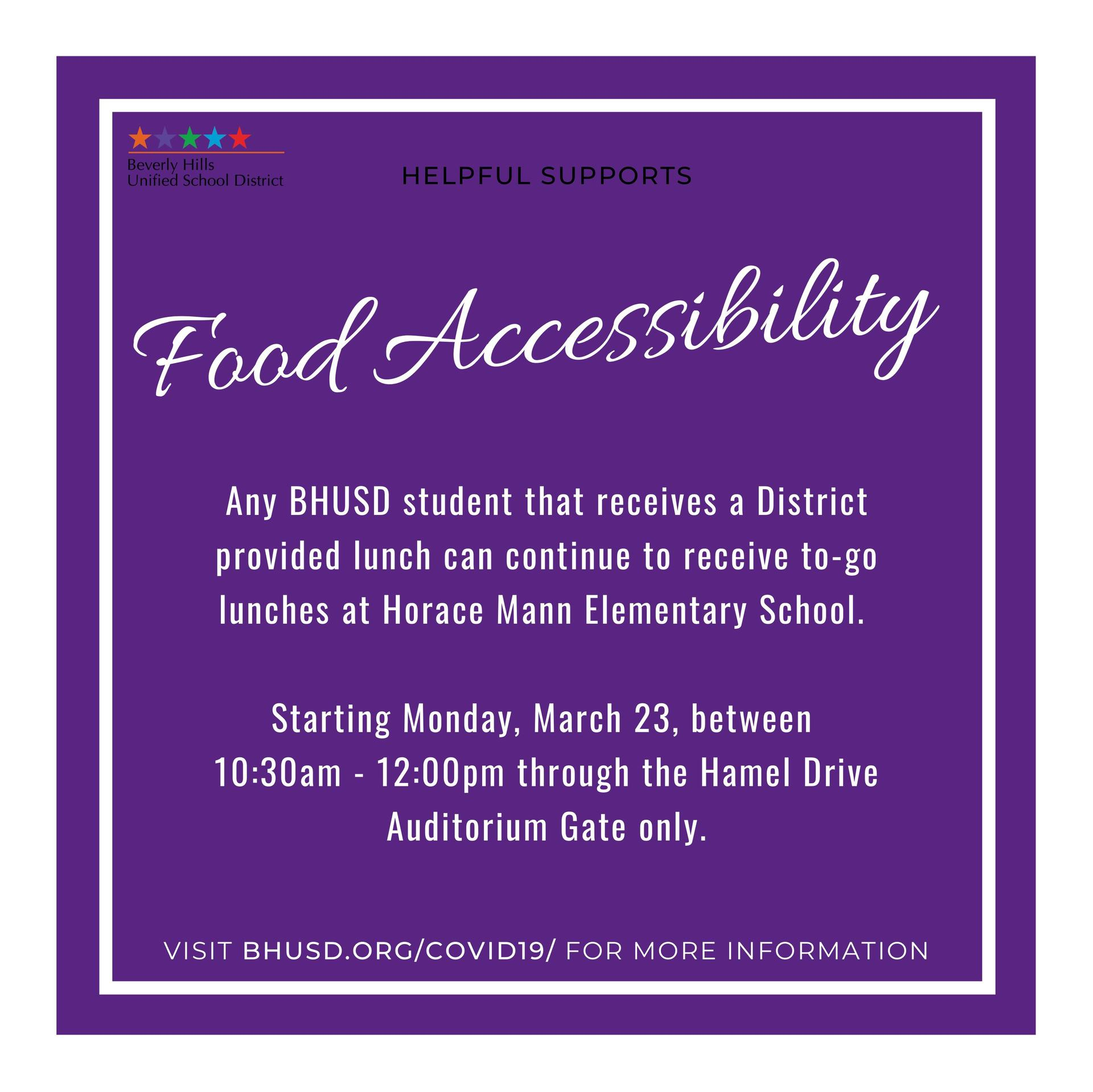 Food Accessibility