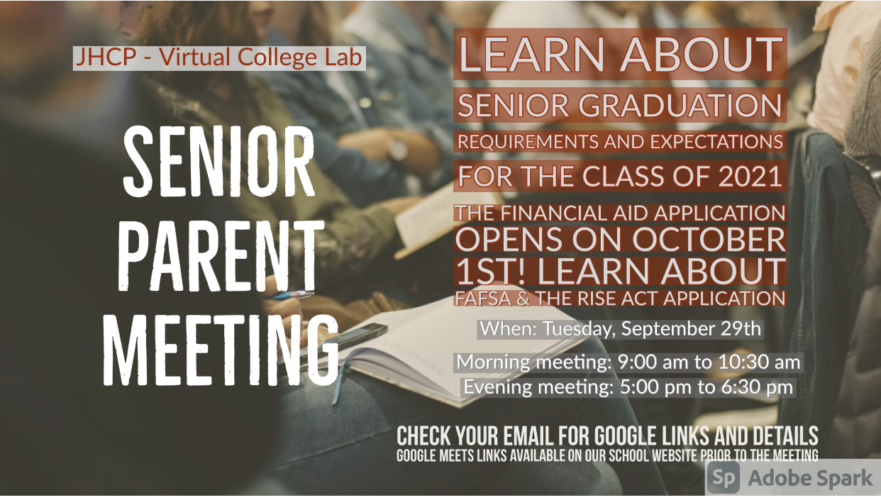Virtual Senior Parent Meeting