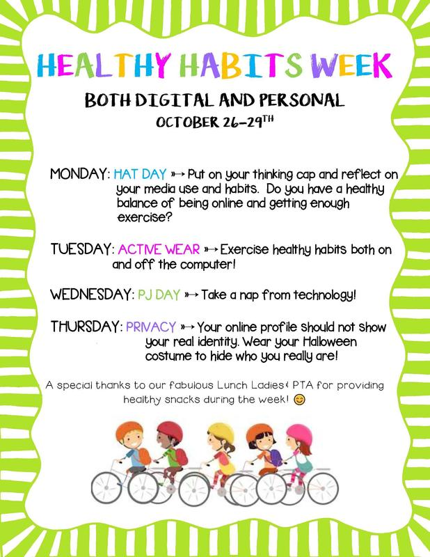 Healthy Habits Week Thumbnail Image