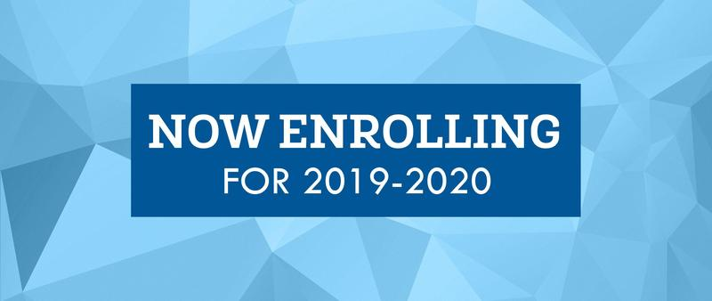 Now Enrolling for the 2019/2020 School Year Featured Photo