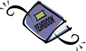 clip art of a yearbook