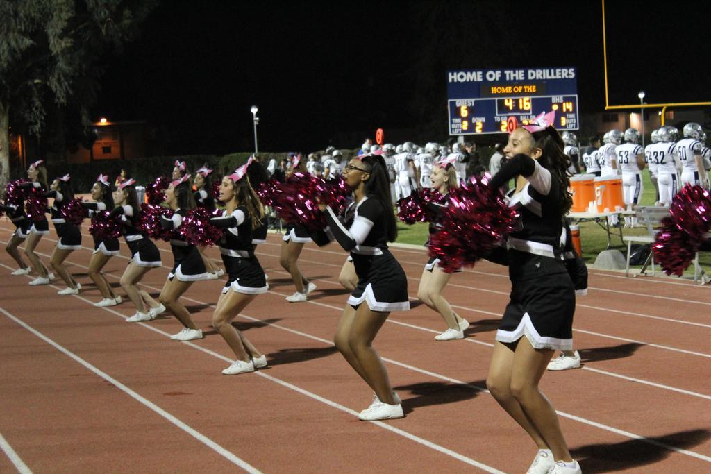 Varsity Cheer @ BHS
