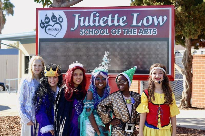 Juliette Low School of the Arts Students