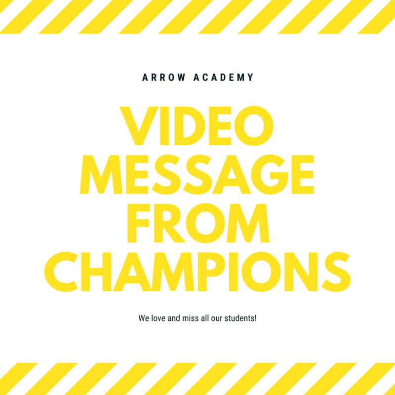 Video Message from Champions Academy Featured Photo