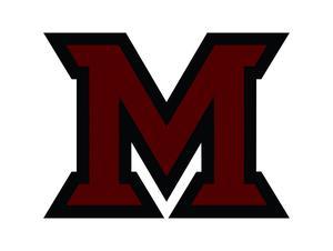 maroon M
