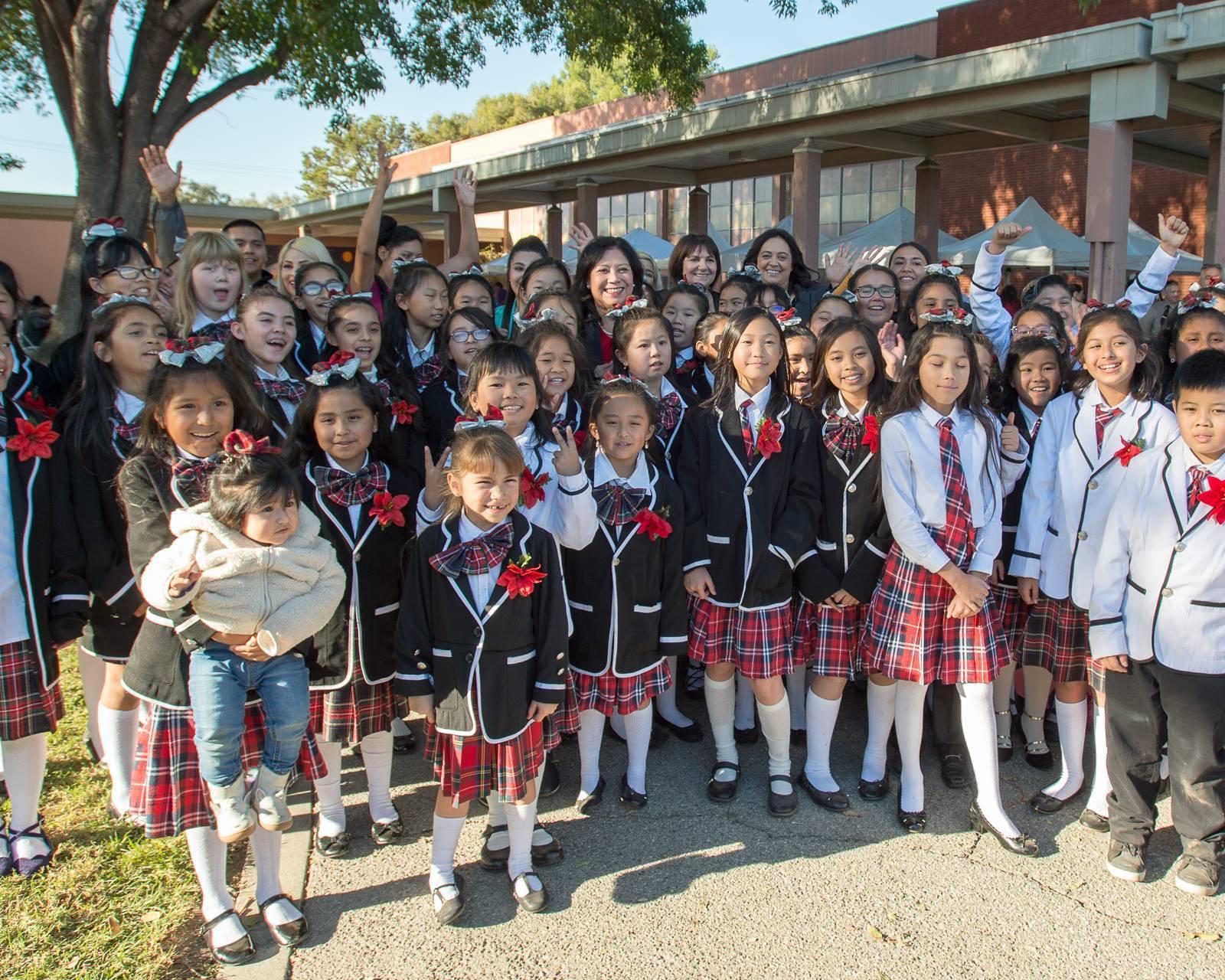 Garvey School District's Rhythmax student choir