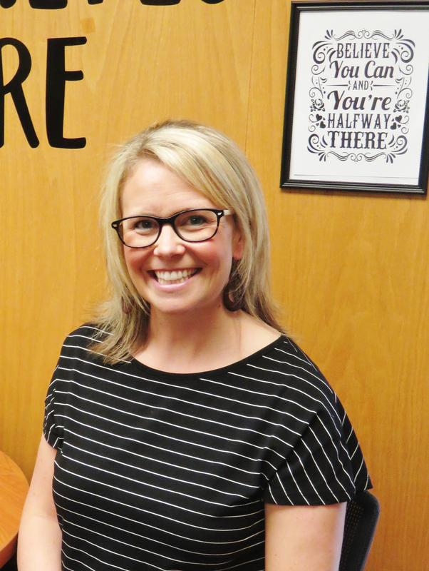 Lyndsey Fischer takes on a new role for the district.
