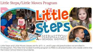 Image for Little Moves/Little Steps Program