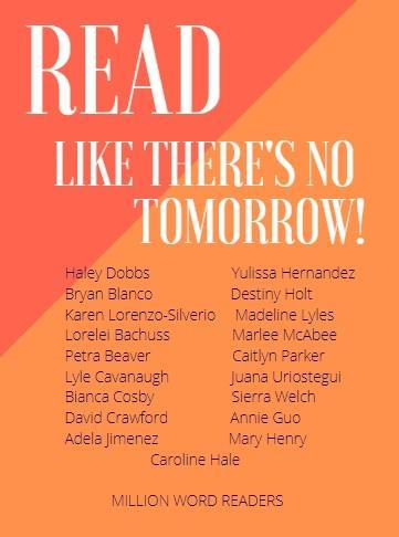 list of students reading one million words
