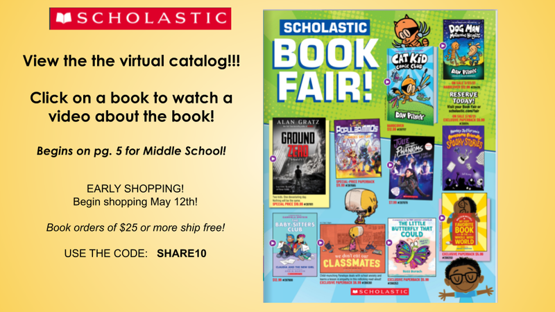 SHOP EARLY - SCHOLASTIC BOOK FAIR Featured Photo