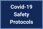 Covid-19 Safety Protocols Button