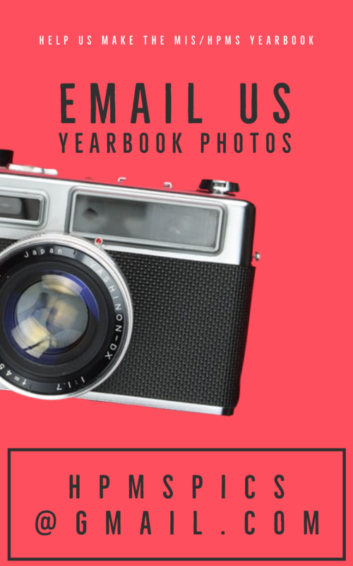Help us make the MIS/HPMS Yearbook Featured Photo