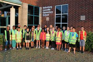 Pictured are the members of the 2019-2020 Safety Patrol at B-L Elementary School.