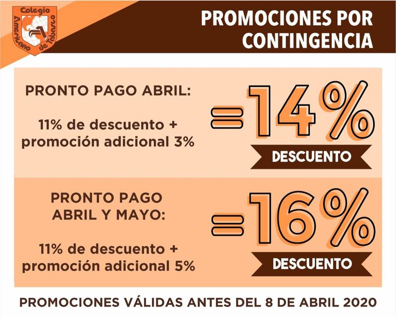Promociones por contingencia Featured Photo