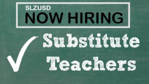 Now Hiring Substitute Teacher