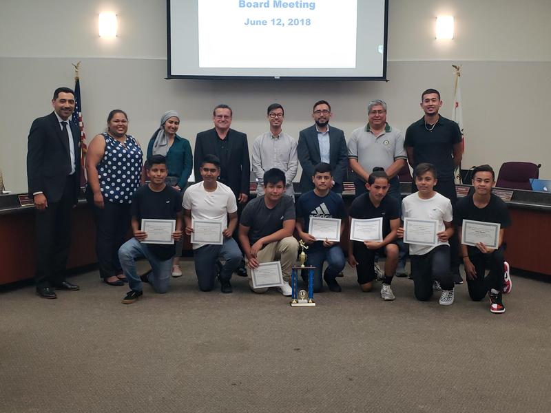 Sylvandale Soccer Honored by FMSD Board of Education Thumbnail Image