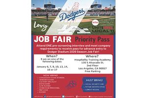 LA Dodgers Job Fair Priority Pass