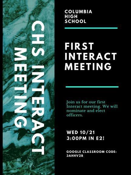 Interact meeting