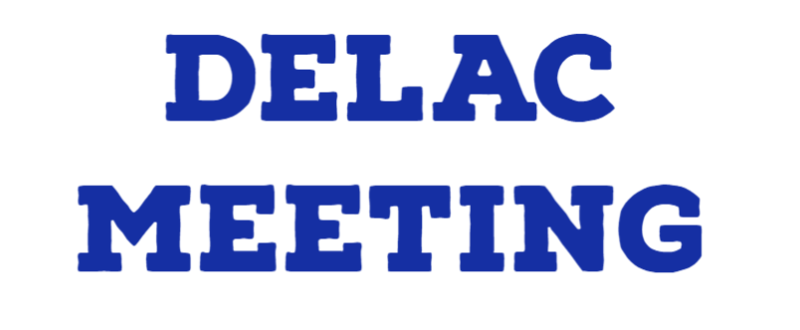 October DELAC Agenda and Zoom Link Featured Photo