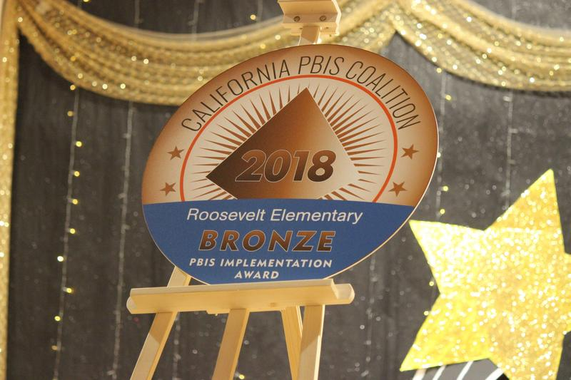 Roosevelt Elementary Awarded Bronze Award for Success in PBIS Program Featured Photo