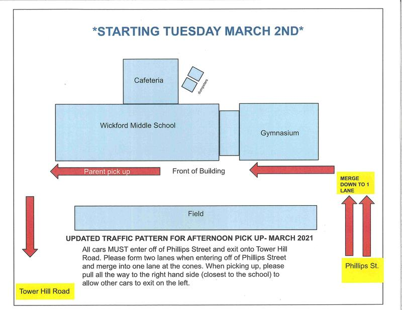 REVISED WMS Dismissal Policy Begins Tuesday, March 2nd Featured Photo