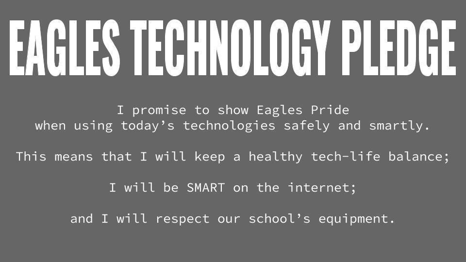 Eagles Technology Pledge