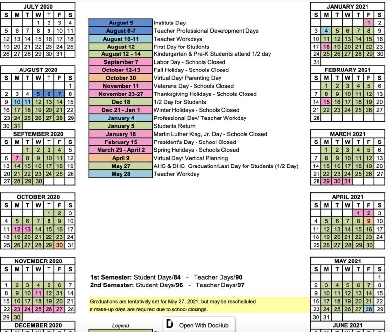 2020-2021 Calendar Featured Photo