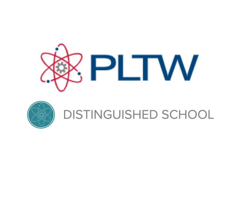 PLTW Distinguished Schools Featured Photo