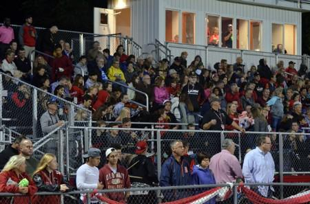 Homecoming Friday Night 23 September 2016 Fans and Band