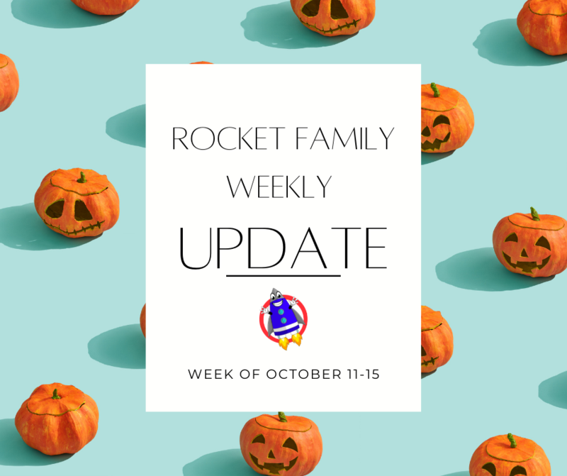 Rocket Family Weekly Update: October 11-15 Featured Photo