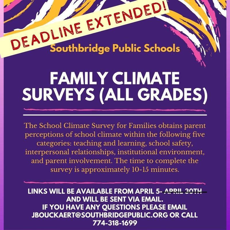 Flyer in English - deadline for survey extended